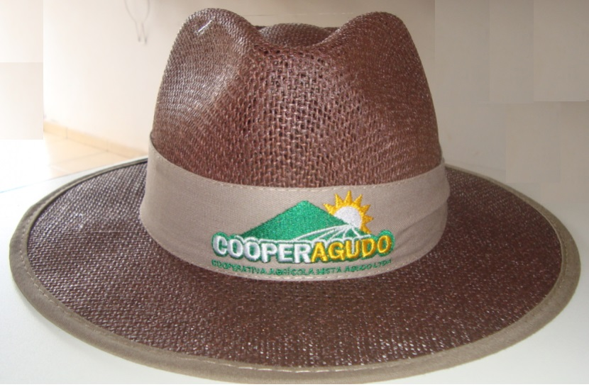 Chapéu de Juta Colorida 1053C  fc021dc0283