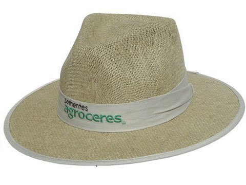 Chapéus de Juta Personalizados com Forro 1053  5154cfa27b6