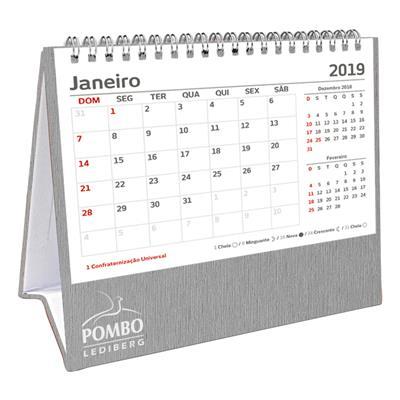 Calendários 2019 404 13 Vega Prata Pombo Lediberg  6a9a2a585c91f