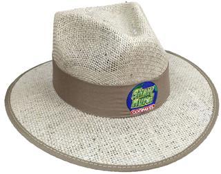 Chapéu de Juta com Forro na Aba EC493bordado  34fbb29072a