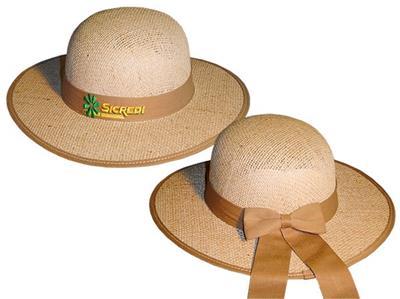 Chapéu de Juta com Forro na Aba Feminino EC498bordado  2b8c43f215c